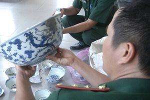Từ ngày 9/7 sẽ tiến hành trục vớt tàu cổ đắm tại vùng biển Dung Quất (Quảng Ngãi)