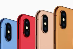 iPhone 2018 có 3 màu mới gồm xanh dương, cam và vàng