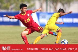 Hai cầu thủ người Hà Tĩnh cùng Viettel vô địch U17 quốc gia