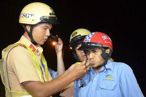 TP HCM: CSGT mở cao điểm xử phạt 'ma men'