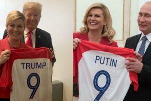 Ông Trump - Putin có 'áo đôi' nhờ nữ tổng thống Croatia