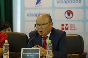 HLV Park Hang Seo: Olympic Việt Nam đặt mục tiêu qua vòng bảng ASIAD 2018