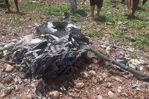 Tiêm kích MiG-21 của Ấn Độ bốc cháy ngùn ngụt, phi công thiệt mạng