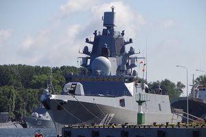 Khinh hạm 'khủng' Đô đốc Gorshkov trang bị dàn tên lửa tối tân gia nhập hải quân Nga