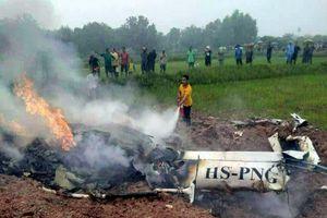 Rơi trực thăng ở Thái Lan, ít nhất 3 người thiệt mạng