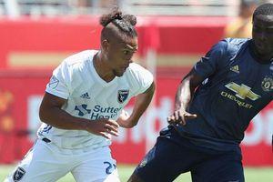 Kết quả MU 0-0 San Jose Earthquakes: Sanchez nhạt nhòa, MU hòa trận thứ hai liên tiếp