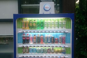 Hệ thống bán lẻ nước giải khát tự động Drink Vending Machine
