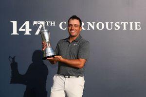 Francesco Molinari đưa golf Ý đi vào lịch sử