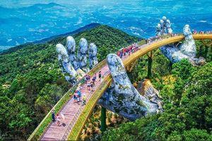 Cầu Vàng Đà Nẵng nhận 'mưa' lời khen từ cộng đồng quốc tế