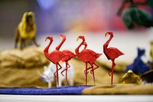 Lạc bước vào xứ sở thần tiên của Origami