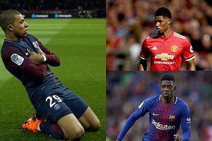 10 cầu thủ trẻ đắt giá nhất: Sao MU chào thua 'Nhà vô địch World Cup'