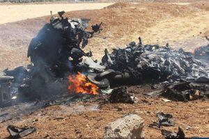 IS công bố hình ảnh đầu tiên chiếc Su-22 Syria bị Israel bắn rơi