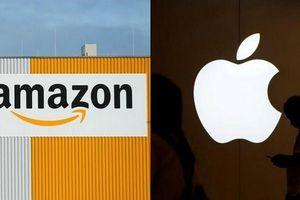 Apple và Amazon cân sức trong cuộc đua đến nghìn tỉ đô