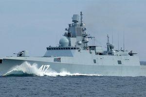 Hệ thống đánh chặn ngầm độc nhất trên chiến hạm Gorshkov