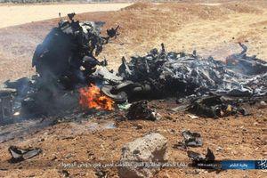 Tổ chức khủng bố IS công bố hình ảnh xác máy bay Su-22 của Syria