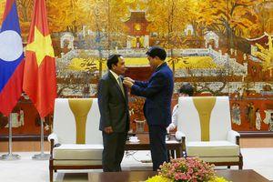 Lào mong muốn đẩy mạnh trao đổi hợp tác trong lĩnh vực thanh tra với Hà Nội