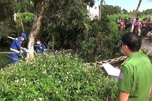 Người đi câu cá phát hiện thi thể dưới kênh ở Sài Gòn