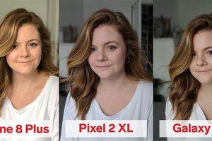 iPhone 8 Plus, Pixel 2 XL và Galaxy S9+: bạn thấy smartphone nào chụp chân dung đẹp hơn?