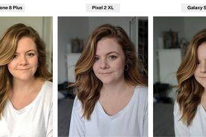 So sánh chế độ chụp Chân dung trên Pixel 2, Galaxy S9 và iPhone 8