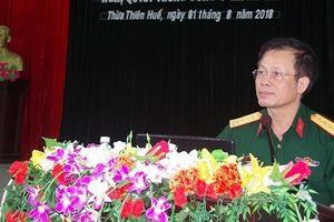 Đảng ủy quân sự tỉnh Thừa Thiên Huế Triển khai thực hiện Nghị quyết TW 7