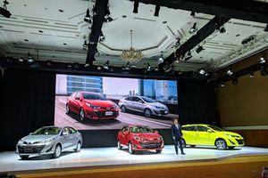 Toyota Vios và Yaris thế hệ mới có giá cao nhất 650 triệu đồng
