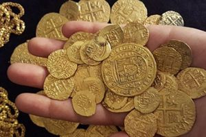 Phát hiện kho vàng 100 tỉ đồng chìm dưới đáy biển