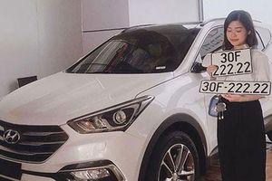 Hyundai Santa Fe hơn 2 tỷ đồng biển 'ngũ quý 2' ở HN