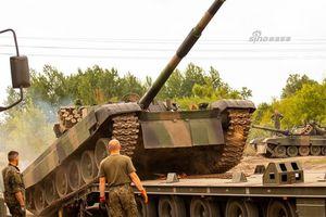 Ba Lan mang siêu xe tăng Liên Xô một thời tới Baltic tập trận