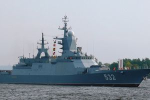 Tàu khu trục 'Đô đốc Gorshkov' chuẩn bị gia nhập Lực lượng Hải quân Nga