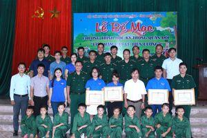 Sơn La: Bế mạc chương trình 'Học kỳ trong Quân đội' cho các em học sinh nghèo