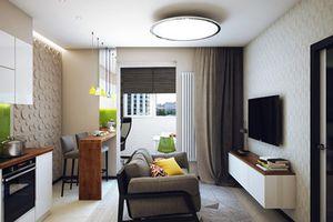 Cách trang trí căn hộ 1 phòng ngủ cho chàng độc thân
