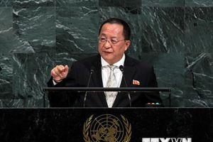 Bộ trưởng Ngoại giao Triều Tiên công du Singapore và Iran