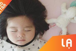 Cô bé Nhật tóc dày gây 'sốt' mạng xã hội