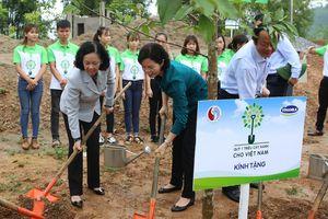 Trồng 100.000 cây xanh tại khu di tích lịch sử quốc gia Nà Tu, Bắc Kạn