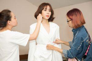 Hồ Hoài Anh, Lưu Hương Giang mang trang sức kim cương ghi hình 'The Voice Kids'