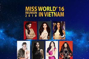 07 hoa hậu thế giới 2016 sẽ hội ngộ tại Đà Nẵng từ ngày 5 - 9/8