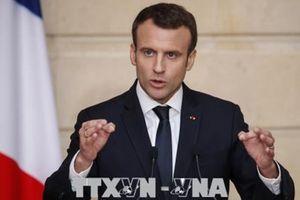 Uy tín của Tổng thống Pháp Emmanuel Macron giảm sút mạnh