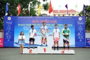 Bế mạc Giải quần vợt VTF Junior Tour 3