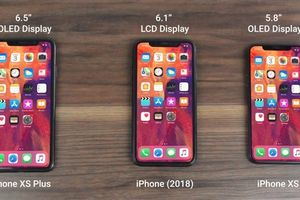 Rò rỉ video trên tay iPhone XS, iPhone XS Plus, iPhone 2018