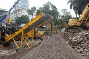 Grandeur Palace - Giảng Võ áp dụng công nghệ phá dỡ bảo vệ môi trường lần đầu xuất hiện tại Việt Nam