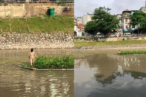 Cô gái khỏa thân đứng giữa sông Tô Lịch bị 'ngáo' hay 'có vấn đề về thần kinh'?