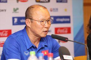 Vô địch giải giao hữu, ông Park nói tất cả các trận ở ASIAD 18 đều là chung kết