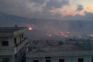 Tên lửa, pháo binh Syria trút sấm sét hủy diệt thánh chiến ở Idlib, Hama
