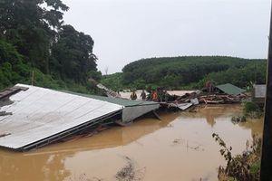 Mưa lớn gây ngập lụt tại huyện biên giới Ia H'Drai