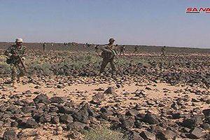 Phiến quân IS ồ ạt tháo chạy khỏi chiến trường Sweida