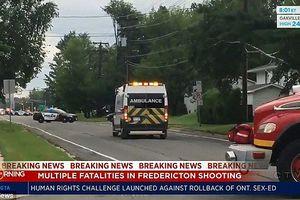 Xả súng lúc sáng sớm tại Canada, ít nhất 4 người mất mạng