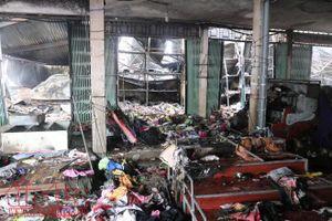 Vụ cháy tại chợ Sóc Sơn, Hà Nội: Ban Quản lý chợ mắc hàng loạt sai phạm