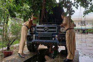 Chủ Mercedes-Benz G55: Gắn biển số quân đội chạy cho... oai