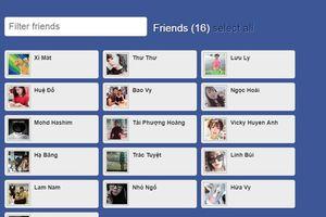Hướng dẫn lọc bạn bè Facebook không tương tác cách mới nhất