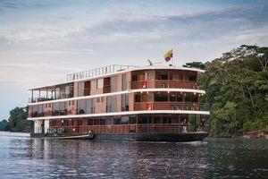 Khách sạn du thuyền sang trọng đầu tiên trên sông Amazon